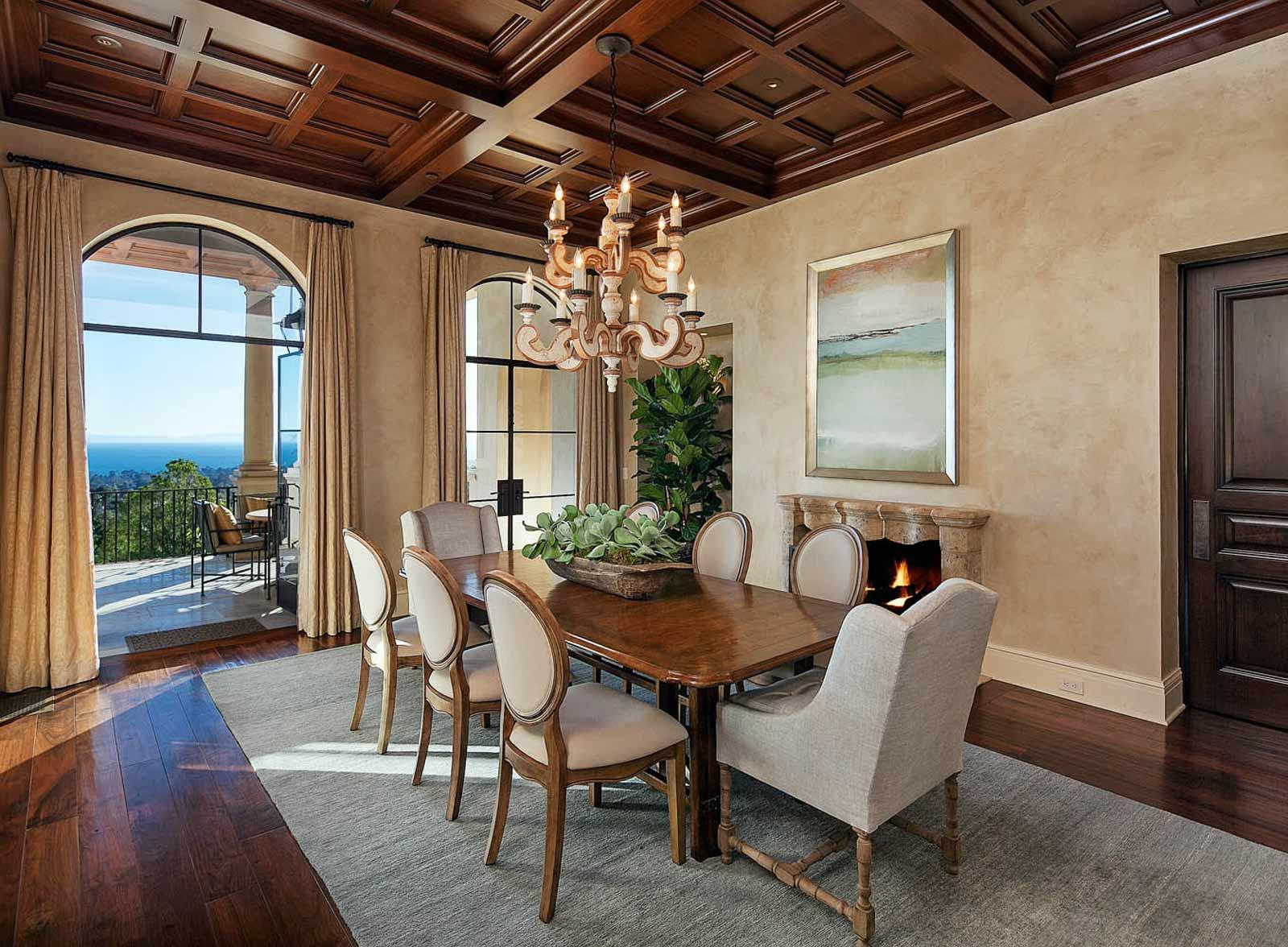 Lessa Wilson Goldmuntz Tuscan Style Dining Room